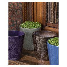 Boho Planter - Set of 8 Indoor Planters, Planter Pots, Home Vegetable Garden, Herb Gardening, Indoor Gardening, Potted Plants, Succulents, Herbs, Boho