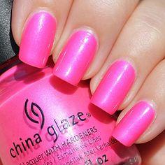 China Glaze - Hang-Ten Toes