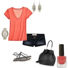 Who doesnt love coral in the summer???