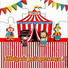 E a festa circo chegou, com rótulos caçulinha, rótulo chocolate baton, bis duplo, e muitas artes digitais pra você imprimir gratuitamente.