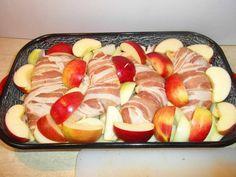 """Csirke """"Pékné"""" módra recept lépés 6 foto Meat Recipes, Cake Recipes, Cooking Recipes, Poultry, Sushi, Sausage, Low Carb, Bacon, Keto"""