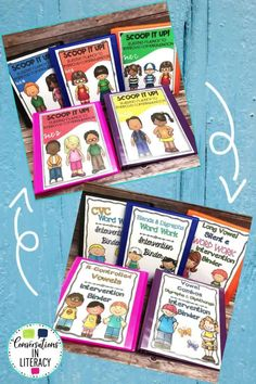 Phonics Word Work & Fluency Binders-Phonics decoding activities and ideas for guided reading and reading interventions that build fluency! Increase learning during small groups with fun practice for kids. Teachers use these phonics activities to build phonics & fluency with reading passages. Great for struggling readers too! #kindergarten #firstgrade #secondgrade #thirdgrade #conversationsinliteracy #phonics #fluency #comprehension #classroom #elementary #decoding #readinginterventions