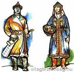 Kárpát medencei viseletek - Kárpát medencei viseletek - Az ősmagyar kaftánok - Világbiztonság