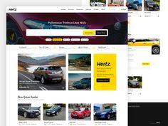 Hertz Used Car by Cihan Ui Ux Design, Used Cars