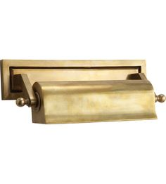 Visual Comfort TOB2604HAB Thomas OBrien Library 40 watt 11 inch Hand-Rubbed Antique Brass Picture Light Wall Light photo
