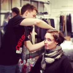 Hair stylists on hand #diesel #dieselvfno #dieselfno #vfno #fno #Russia #Moscow