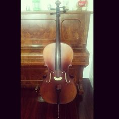 Love the sound my Cello makes. One of the best purchases I've made this year  Beautiful!  #cello #music #strings #classical #classicalmusic #endpin #violoncello #orchestra #symphony #clef #bow #sheetmusic #solo #practice #musictomyears #musictomysoul by dancing_in_the_rain_xx