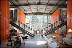 Recycled Container Houses