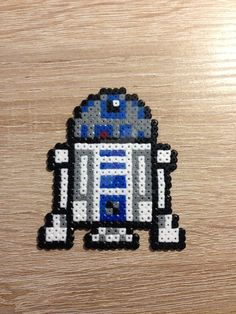 R2D2 - Star Wars perler beads by XArjunX