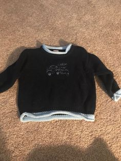 17d531a6f53 Infant Boy Navy Blue Sweater 6-9 Months Mini Mode  fashion  clothing  shoes   accessories  babytoddlerclothing  boysclothingnewborn5t (ebay link)
