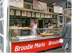 Broodje Mario, when you visit Utrecht you have to try this sandwich, Utrecht, Netherlands