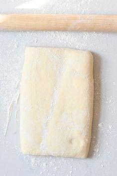 Croissant dough Croissant Dough, Croissant Recipe, Homemade Croissants, Egg Wash, Vegetarian Chocolate, Tray Bakes, Nutella, Baking, Simple