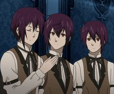 Manga Boy Triplets | Picture of Anime boy triplets?