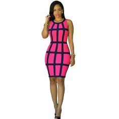 HIRIRI Womens Casual Basic Sleeveless Tank Top Scoop Neck Mini Club Dress Party Cocktail Sundress