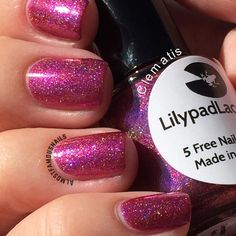 Clematis - Lilypad Lacquer.