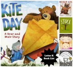 Book List: Letter K Letter K Preschool, Preschool Activities, Text Overlay, Parenting Advice, Book Lists, Diy Crafts For Kids, Homeschool, About Me Blog, Lettering