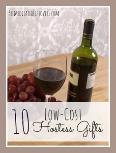Finding a great hostess gift that fits your budget is easier than it sounds. Try these low cost hostess gift ideas this holiday season.