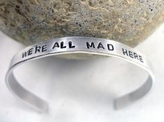"""Alice in Wonderland """"We're All Mad Here"""" ring"""