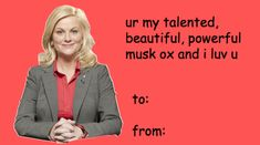 Parks & Rec Tumblr V-Day cards just for you! - Imgur