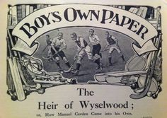 Illustration from The Boys Own Paper, 1914
