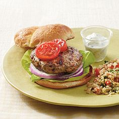 Burgers―Any Way You Like 'Em | Lamb Burgers | SouthernLiving.com