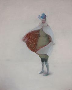 """Windy Poplars Room, Kristin Vestgard """"Dressing up for the landscape""""..."""