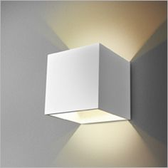 MAXI CUBE KINKIET - Kinkiety - Oprawy oświetleniowe, lampy Aquaform - aquaform.pl oswietlenie na klatce schodowej na ścianie wzdłóż schodów