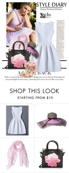 """""""sheinside"""" by sana-97 ❤ liked on Polyvore featuring FAY, Calvin Klein and Rupert Sanderson"""