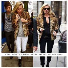 leopard print goes with everything!