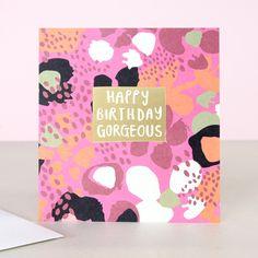 Jumble Happy Birthday Gorgeous Card | Caroline Gardner