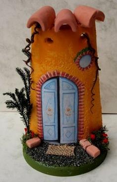 Mani di fata Genova Scrapbooking Perline Decoupage Sugar Craft Pasta di zucchero: Corsi da 10 euro Decoupage, Play Clay, Miniature Rooms, Roof Tiles, Mani, Little Houses, Handicraft, Dollhouse Miniatures, Fairy