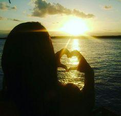 Por do Sol na praia ponta verde em Maceió - Alagoas
