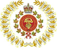 Battle Honours Canadian Soldiers, Canadian Army, Canadian History, Military Mom, Military History, Military Insignia, Armed Forces, Badges, Battle