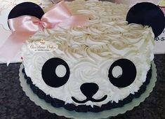 Panda Birthday Cake, Cute Birthday Cakes, Girl Birthday, Birthday Parties, Baby Cakes, Girl Cakes, Cupcake Cakes, Panda Themed Party, Panda Party