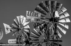 Leers, one of the obscure old brands that used to work in the Karoo. Road Trippers, Windmills, Cape, Tattoo, Collection, Wind Mills, Mantle, Cabo, Tattoos