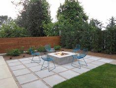 outdoor patio concrete pavers