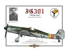 Willi Reschke Ta 152H-1 1945