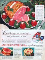 Swift's Ham, Martha Logan Recipe 1949 Ad Picture