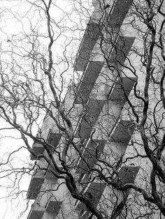 Wrocław (PL), New Medical Academy Nurses Hotel , 1985, K., M. Barscy (foto Leszek Golubiński via flickr)