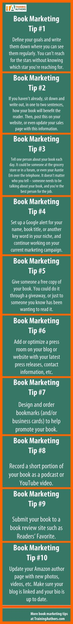 Need to promote a new book, product, website, idea, or service? Here are 10 book marketing tips that will help almost anyone marketing a product, service, or idea. Charity Showcase Memorial Sloan-K…