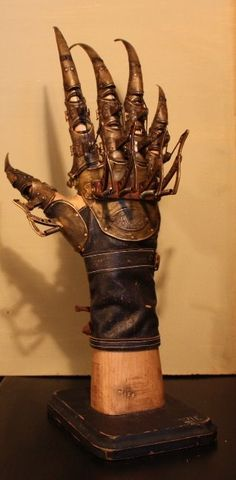 Dr. Hugo Von Richt's mechanical glove for experimental Phrenoscalpoteraputic treatment - Von Richt Institution, 1860's by Jacob Petersson