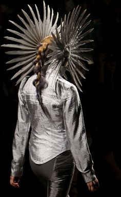 The barbarian queen's headdress.  When I just want to be left alone.