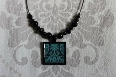 von YanaY auf Etsy Made Clothing, Boho Necklace, Goth, Etsy, Vintage, Handmade, Black, Jewelry, Fashion