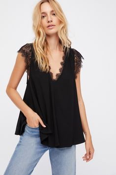 Black Lovin' On You Top at Free People Clothing Boutique