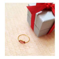 *・゜・*:.。..。.:*:.。. :*・゜・*・*:.。..:* My amulet ⁂ ⁂ #mariehelenedetaillac  #マリーエレーヌドゥタイヤック  #rubellite #ルベライト #Drawer #ドゥロワー