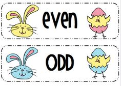 FREE Easter Number Sort