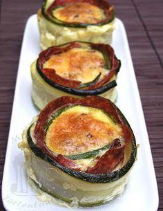 Sehr leckere zucchini quiches mit wenig Kohlhydraten