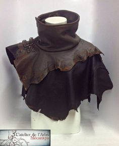 wasteland high collar capelet