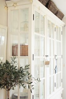 Lovely cupboard from Huseby Living blog