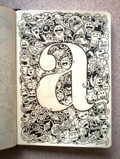 DOODLE ART: A is for Art by ~kerbyrosanes